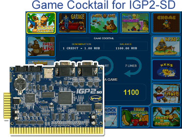 Game Cocktail SD for a board - IGP2 SD