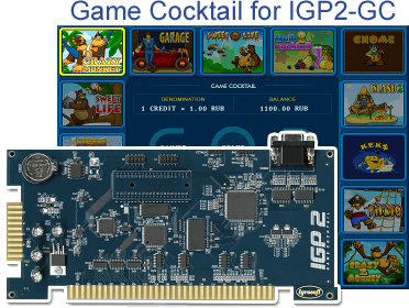 Game Cocktail for a board - IGP2 Game Cocktail